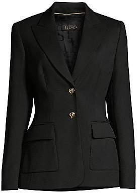Escada Women's Bavoyit Wool Twill Jacket
