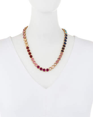 Lydell NYC Single-Strand Rainbow Necklace