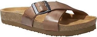 Eastland Leather Slide Sandals - Kelley