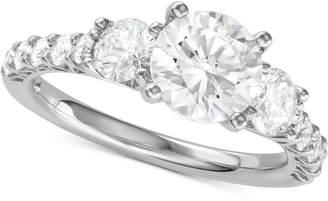 Macy's Diamond Engagement Ring (2-5/8 ct. t.w.) in 14k White Gold