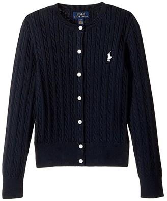 6ead5e96665f2 Girls Navy Ralph Lauren Sweater - ShopStyle