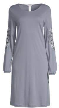 Hanro Jana Long Sleeve Gown