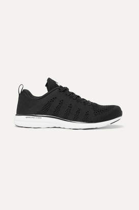 APL Athletic Propulsion Labs Techloom Pro Mesh Sneakers - Black