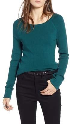 Treasure & Bond Variegated Rib Sweater