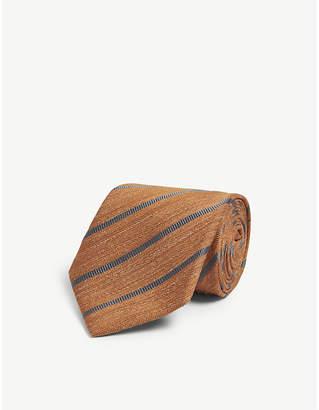 Bigi Cravatte Silk-blend tie