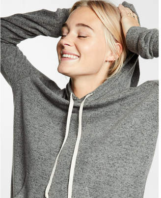 Express express one eleven plush jersey hoodie $49.90 thestylecure.com
