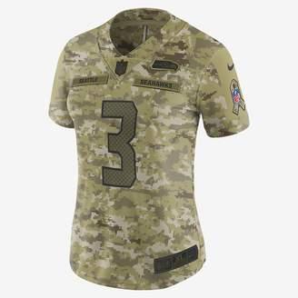 Nike NFL Seattle Seahawks Limited (Russell Wilson) Women's Football Jersey