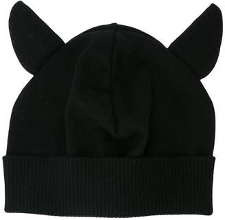 Moschino animal ears beanie