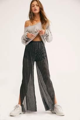 MinkPink Glisten Pleat Pants