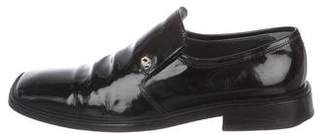 Versace Patent Leather Loafers