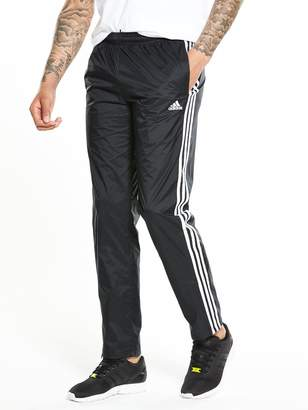 adidas Essential 3 Stripes Woven Pants - Black
