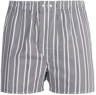 Derek Rose Milly Classic-fit cotton boxer trunks