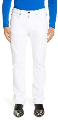 Calvin Klein White Denim Pants