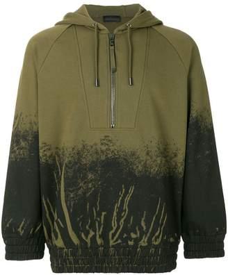Diesel Black Gold gradient hoodie
