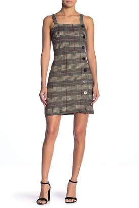 Angie Knit Houndstooth Dress