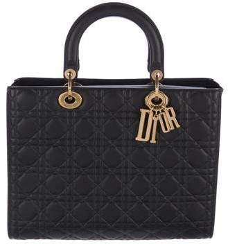 Christian Dior 2017 Large Lady Dior Bag