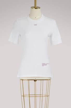 Off-White Off White Cotton logo Skyline T-shirt