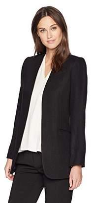 Calvin Klein Women's Open Jacket with Front Slit Pockets