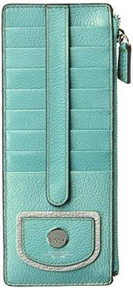 Lodis Pismo Pearl Credit Card Case with Zipper Pocket