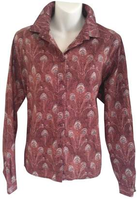 Liberty of London Designs Red Cotton Top for Women