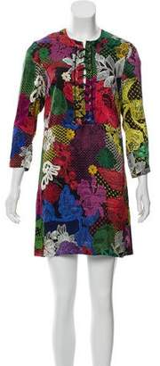 Just Cavalli Silk Mini Dress