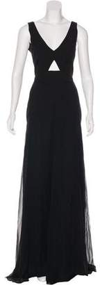 Mason Cut-Out Accent Evening Dress w/ Tags