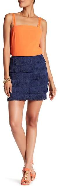 Trina Turk Zazzy Fringe Skirt