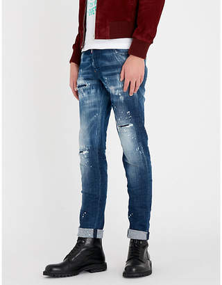 DSQUARED2 Cool Guy cropped straight-leg jeans