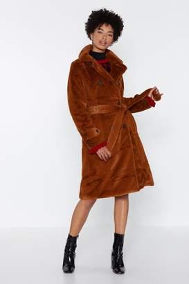 Nasty Gal How Does It Feel Faux Fur Coat