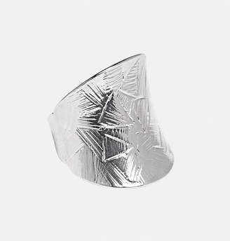 Avenue Textured Metal Stretch Ring