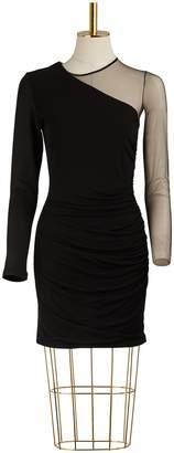 Balmain Asymmetrical Draped Dress