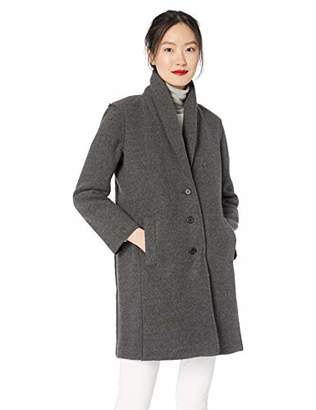 J.Crew Mercantile Women's Boiled Wool Shawl Collar Topcoat