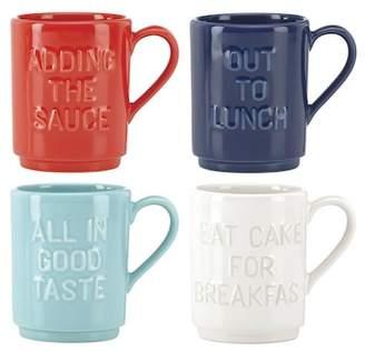 Kate Spade All In Good Taste Stacking Mug
