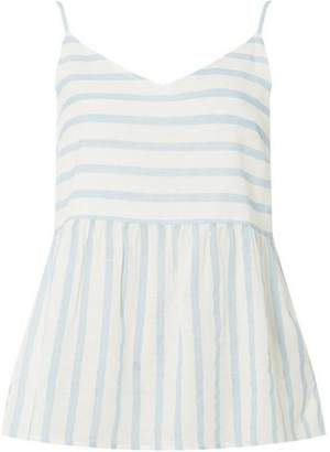 Dorothy Perkins Womens **Vero Moda Blue and White Striped Floaty Blouse