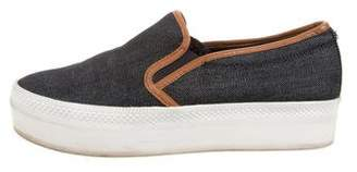 Michael Kors Denim Slip-On Sneakers