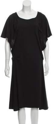 Sonia Rykiel Short Sleeve Midi Dress