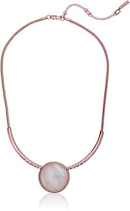 Kenneth Cole New York Womens Moonstone Frontal Necklace