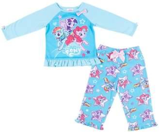 My Little Pony Girl 2-piece Pajama Set-blue