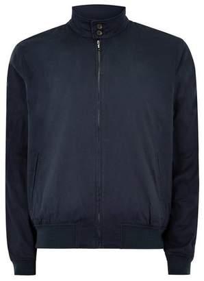 Topman Mens Navy Side Stripe Harrington Jacket
