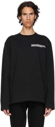 Calvin Klein (カルバン クライン) - Calvin Klein 205W39NYC ブラック Established T シャツ