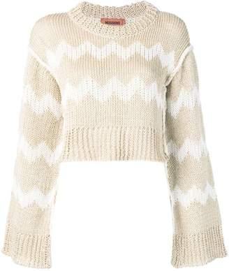 Missoni zig-zag knitted jumper