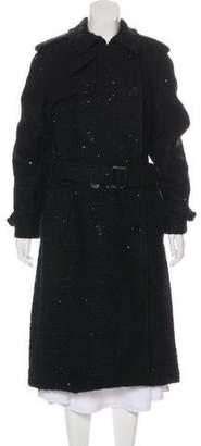 Ralph Lauren Purple Label Sequined Long Coat