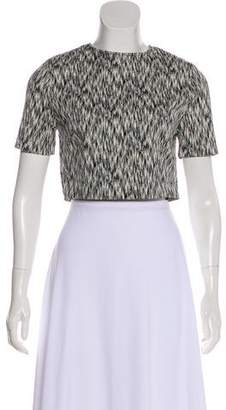 Torn By Ronny Kobo Printed Short Sleeve Top