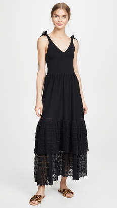 Rebecca Taylor Sleeveless Lace Dress