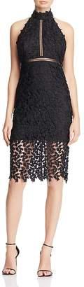 Bardot Gemma Lace Halter Dress $119 thestylecure.com