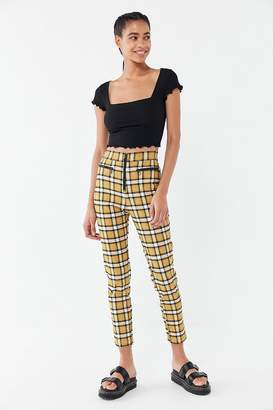 Urban Outfitters Susie High-Rise Zip-Front Pant