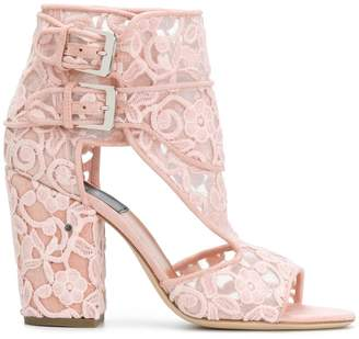 Laurence Dacade lace buckle sandals