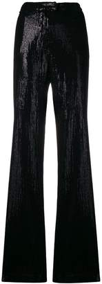 Plein Sud Jeans sequin flared trousers