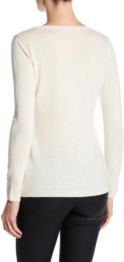 In Cashmere Cashmere Open-Stitch Pullover Sweater 24