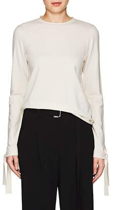 Robert Rodriguez Women's Tie-Cuff Wool-Blend Sweater